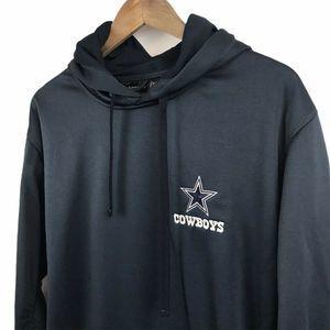 Dallas Cowboys Dunbrooke Mens Hoodie Blue XL